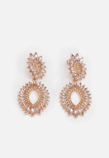 PCSELMA EARRINGS - Earrings - rose gold-coloured