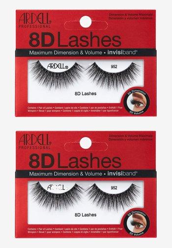8D LASHES 2ER PACK - False eyelashes - 952