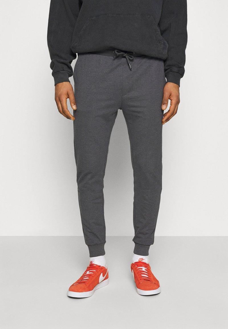 Zign - Träningsbyxor - mottled dark grey