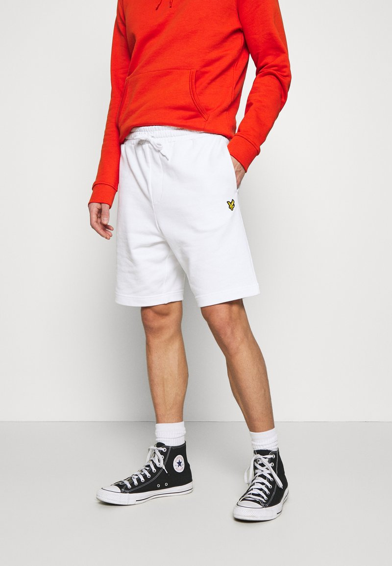 Lyle & Scott - Shorts - white