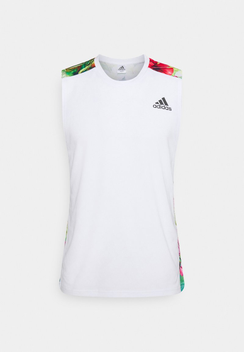 adidas Performance - FLORAL  - Top - white