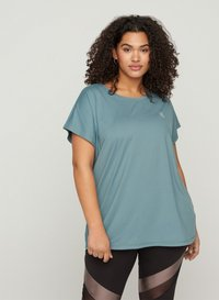 Active by Zizzi - Basic T-shirt - grey - 0