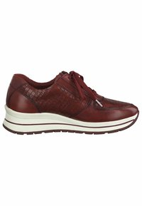 Tamaris Pure Relax - LACE UP - Trainers - scarlet/croco - 3