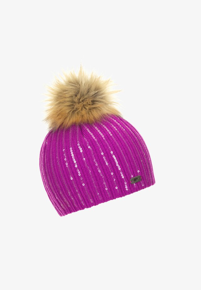 ELEGANTE - Beanie - purple-flecked
