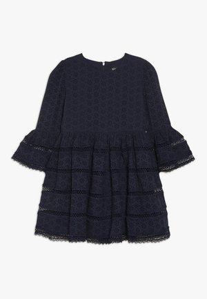 SELMA TRIM DRESS - Vestido de cóctel - navy