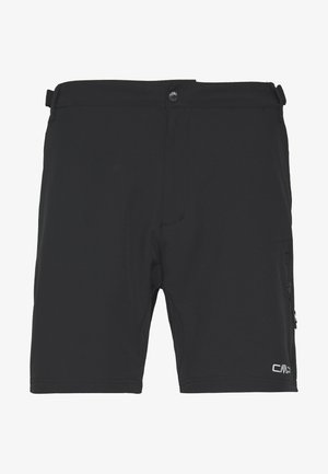 MAN FREE BIKE BERMUDA WITH INNER UNDERWEAR - Sports shorts - nero