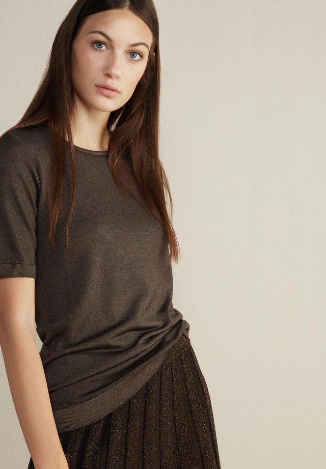 Basic T-shirt - braun -  moka