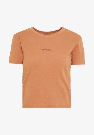 JULIETTE - Print T-shirt - clay