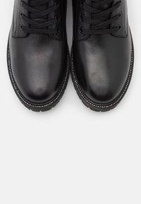 Mexx - DENA - Šněrovací vysoké boty - black - 5