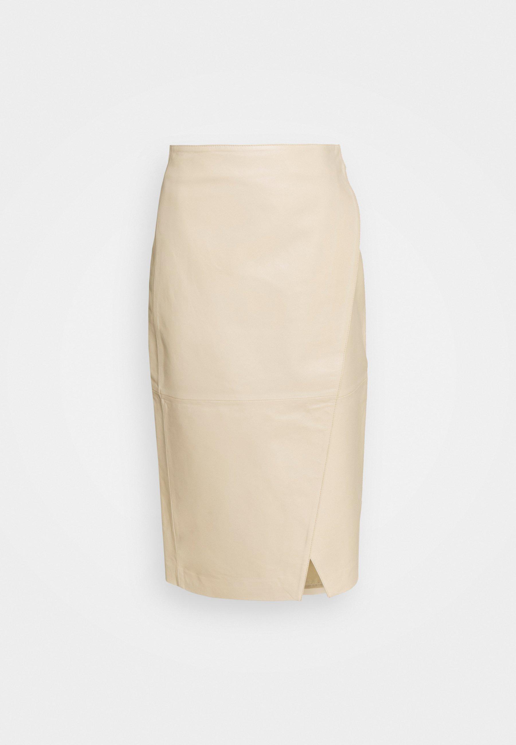 Women RUTH - Leather skirt
