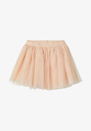 TÜLL - Pleated skirt - shifting sand