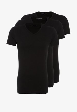 PREMIUM ESSENTIAL 3 PACK - Undershirt - black