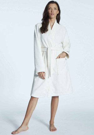 Dressing gown - off white
