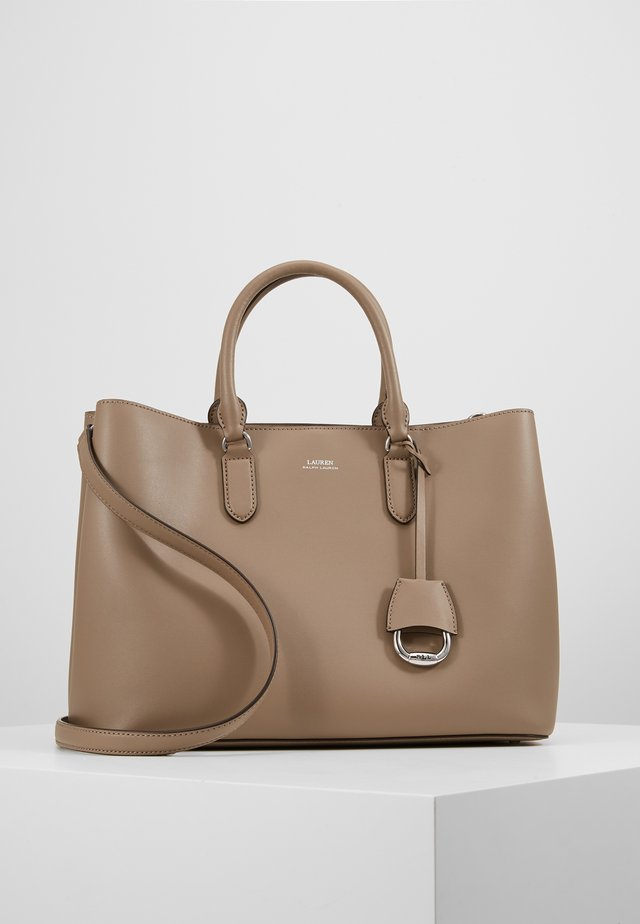 MARCY SATCHEL LARGE - Handbag - taupe