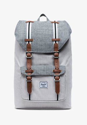 LITTLE AMERICA MID-VOLUME - Rucksack - raven crosshatch / vapor crosshatch / tan
