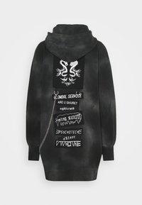 Diesel - D-CADENA DRESS - Day dress - grey/black - 1