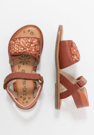 DIAGGO - Sandals - rouge fonce