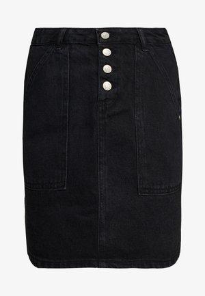 MAVI - Denimová sukně - black