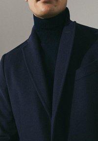 Massimo Dutti - Short coat - dark blue - 5