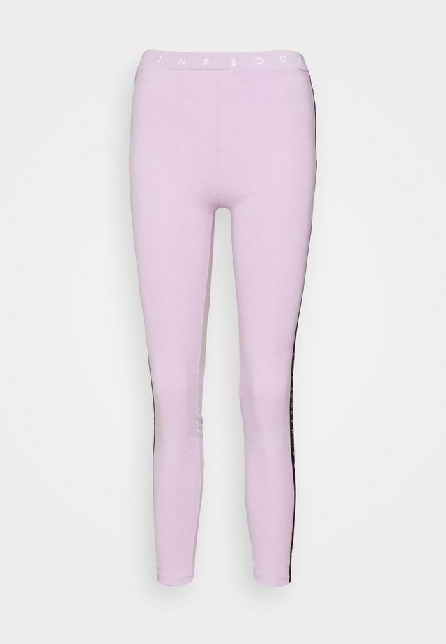 CONGO TAPED - Collants - lilac melange