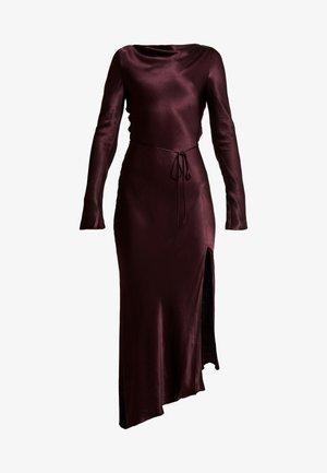 CAROLINE MIDI DRESS - Robe de cocktail - plum