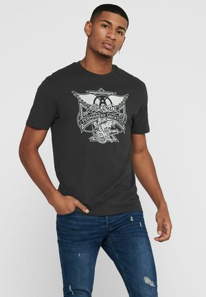 AEROSMITH - Print T-shirt - phantom