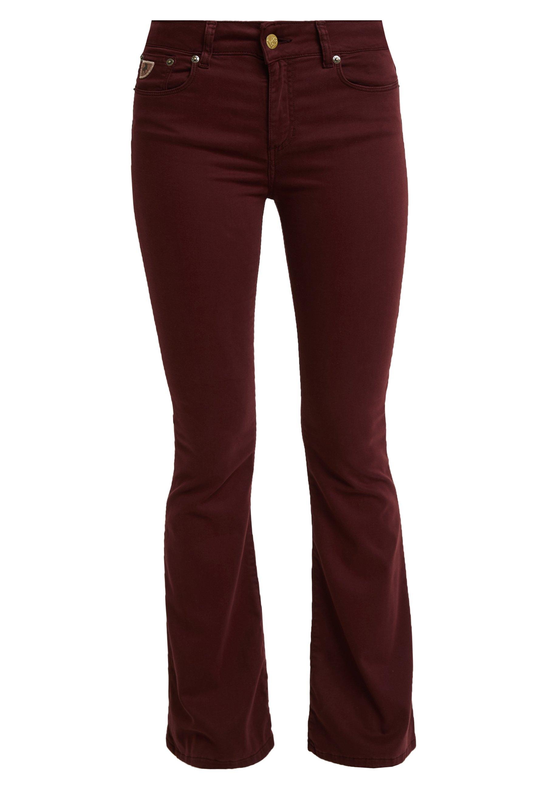 RAVAL Bukse burgundy
