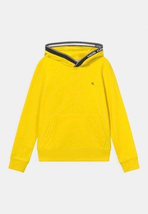 INTARSIA HOODIE - Sweatshirt - bright sunshine