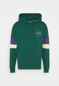 Levi's® - BLOCKED OPEN HEM HOODIE UNISEX - Sweatshirt - greens - 3