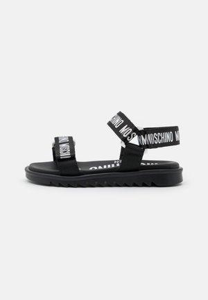 EXCLUSIVE UNISEX - Sandals - black