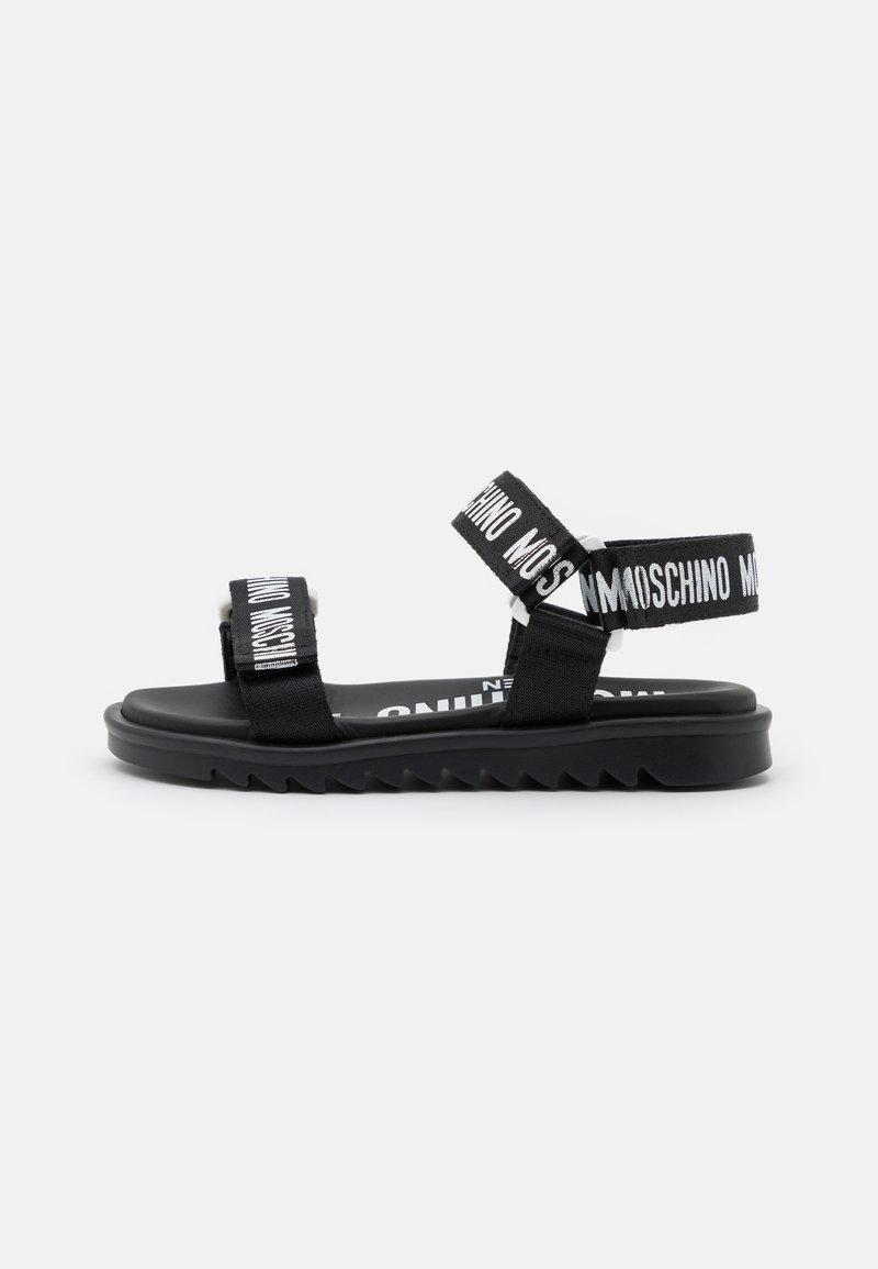 MOSCHINO - EXCLUSIVE UNISEX - Sandals - black