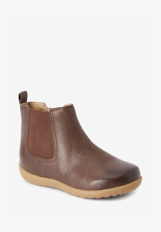 Dětské boty - dark brown
