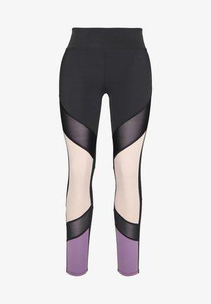 7/8 COLOURBLOCK  LEGGING - 3/4 sports trousers - black