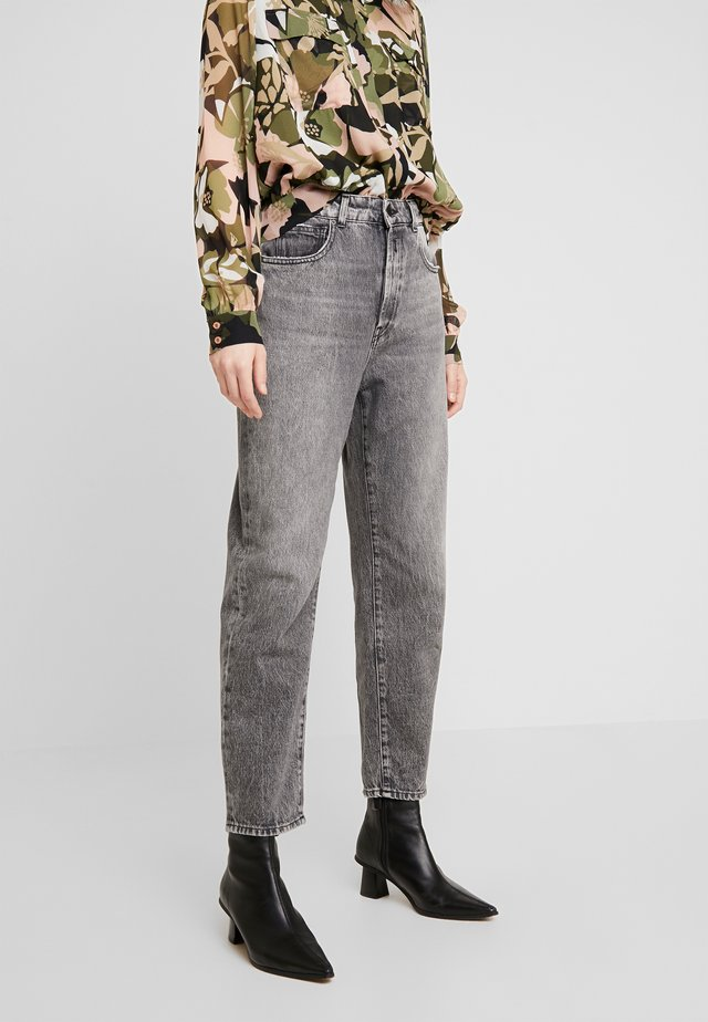 TYNA - Jeans relaxed fit - darkgrey