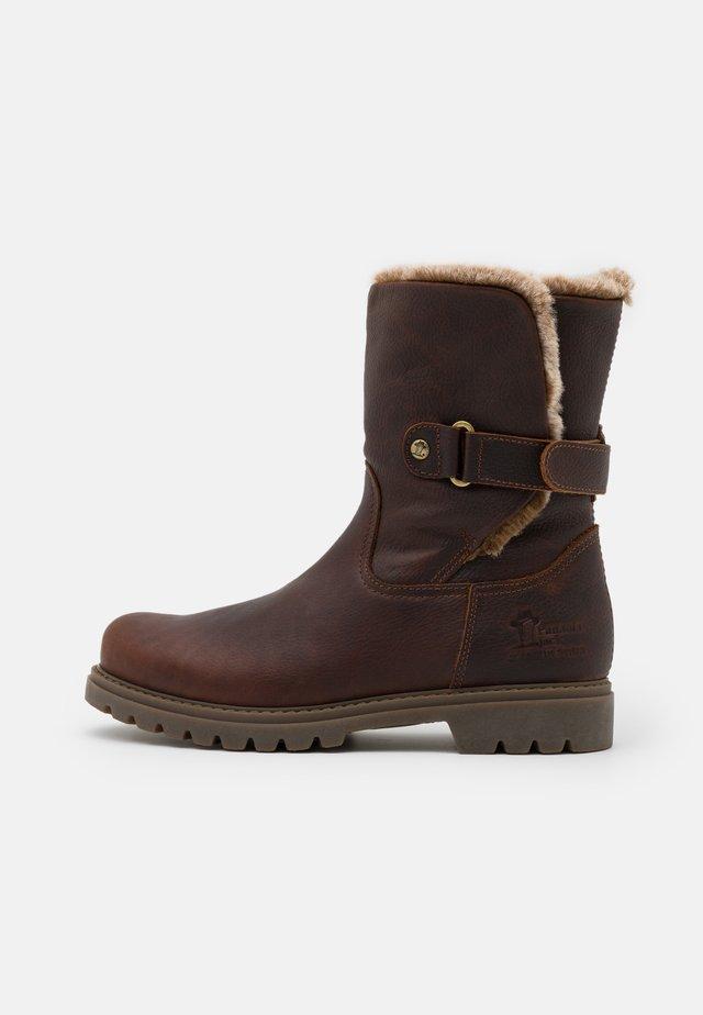 FELIA - Botas para la nieve - castaño/chestnut