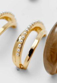 Stradivarius - SET 6 - Ohrringe - gold - 2