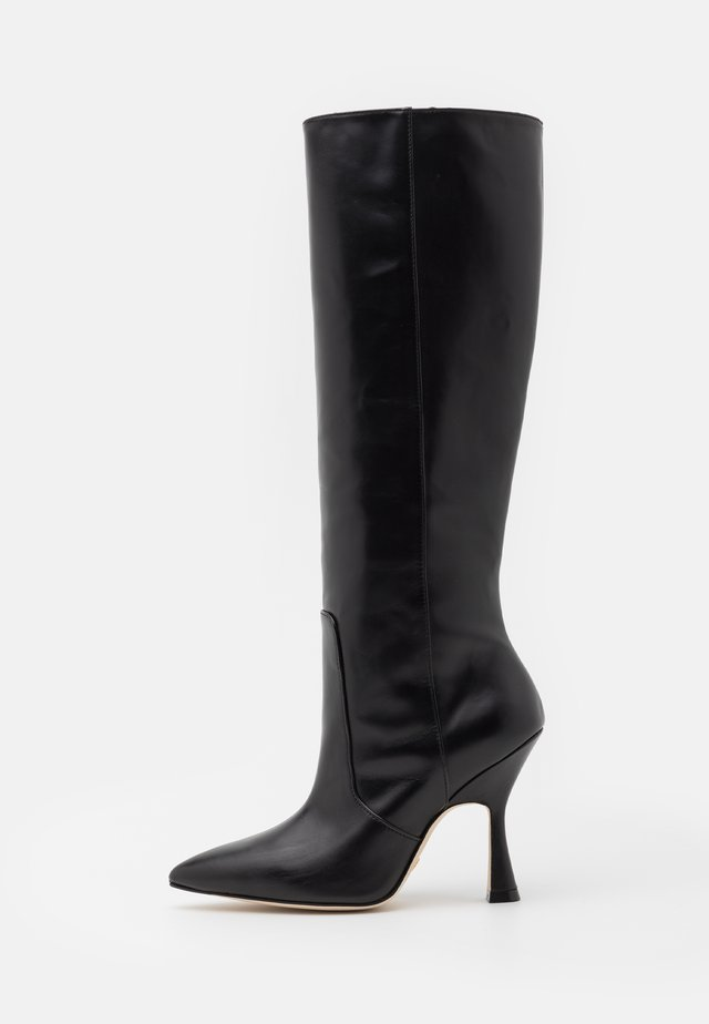 PARTON - High heeled boots - black