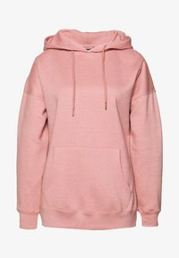 New Look - HOODY - Bluza z kapturem - mid pink - 0