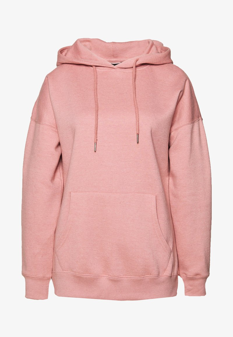 New Look - HOODY - Bluza z kapturem - mid pink