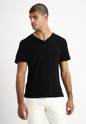 EVERYDAY SOLIDS - Basic T-shirt - true black