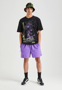 PULL&BEAR - T-shirt print - black - 1