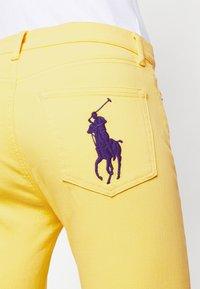 Polo Ralph Lauren - RIELLA - Jeans Skinny Fit - yellow - 3