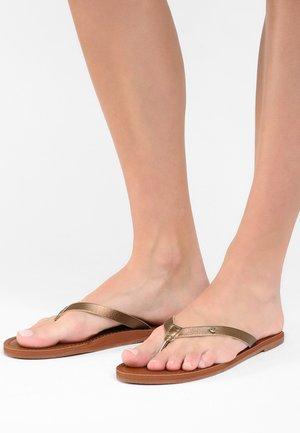 JANEL - Sandály s odděleným palcem - brown