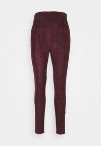 Missguided Tall - Leggings - Trousers - plum - 4