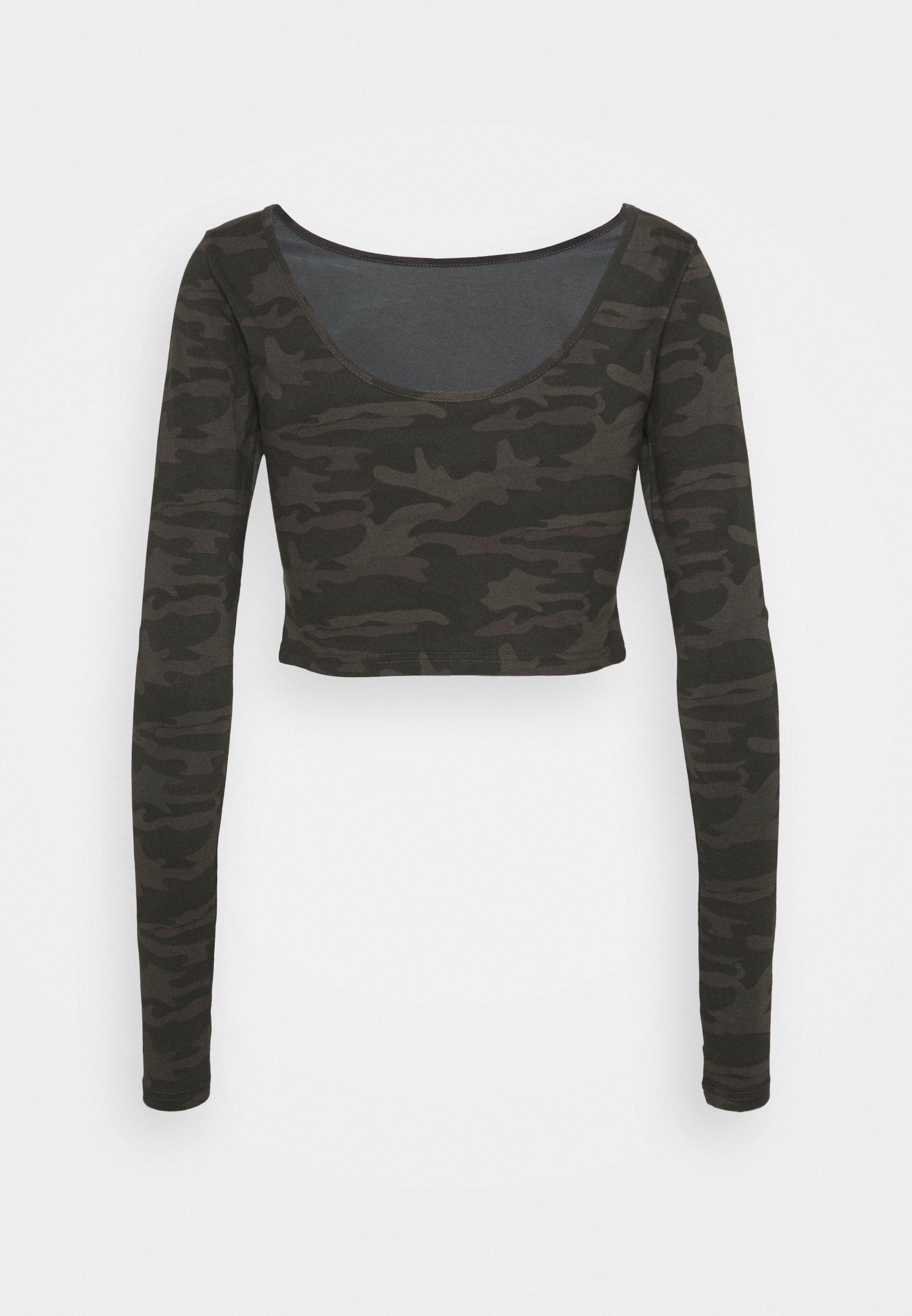Women WARRIOR CROP TEE - Long sleeved top