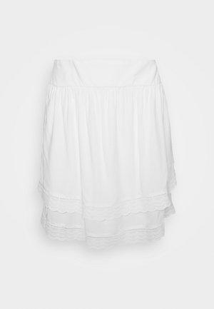 VIMOLUNA SKIRT - Mini skirts  - snow white