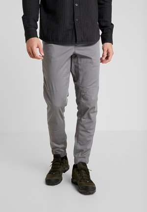 NOTION PANTS - Tygbyxor - ash