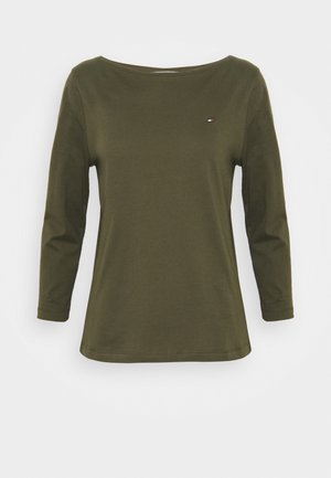Long sleeved top - army green