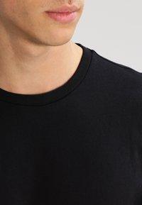 Lee - 2 PACK - T-shirt - bas - black - 4