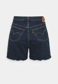 Levi's® Plus - 501 ORIGINAL - Denim shorts - dark blue denim - 1